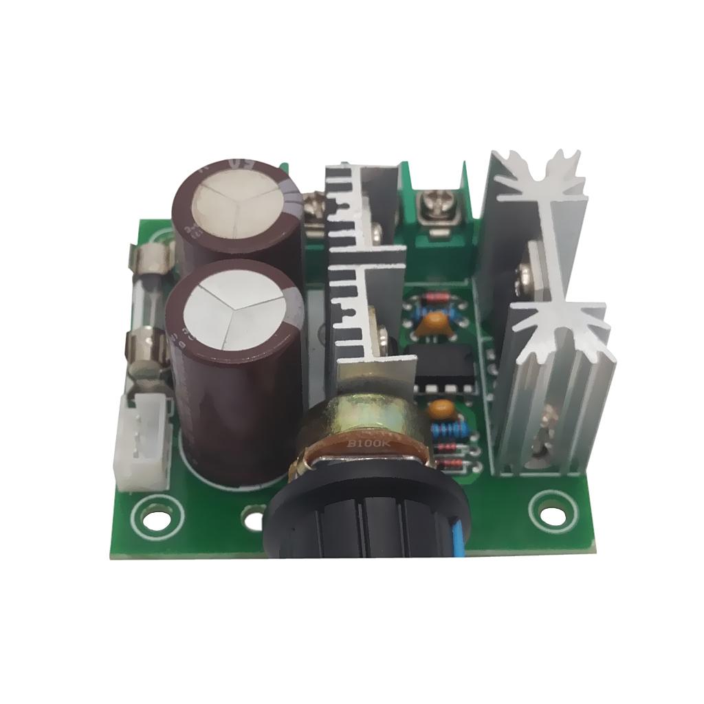 12V-40V 10A PWM DC Motor Speed Controller w/ Knob