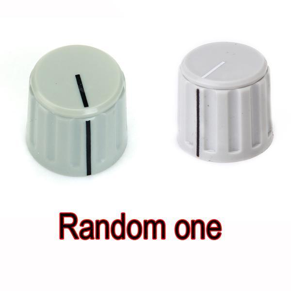 Plastic Potentiometer Control Knob - Grey