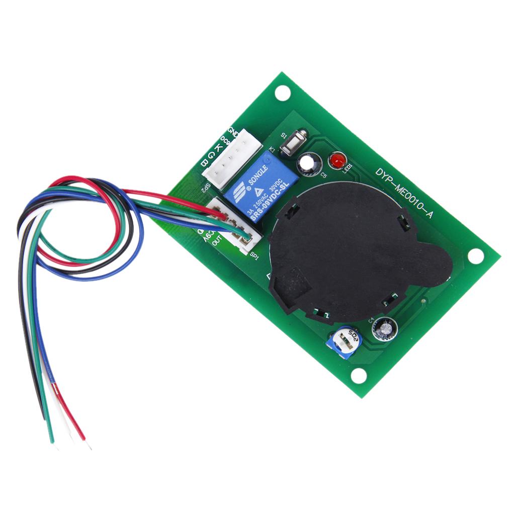 Smoke Sensor Module Smoke Detector w/ Relay Output