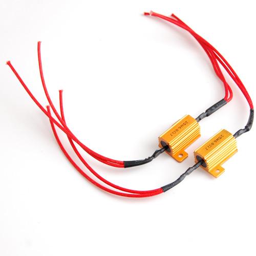 2pcs 25W 6.8Ohm Load Resistor for Car Turn Signal LED Bulb