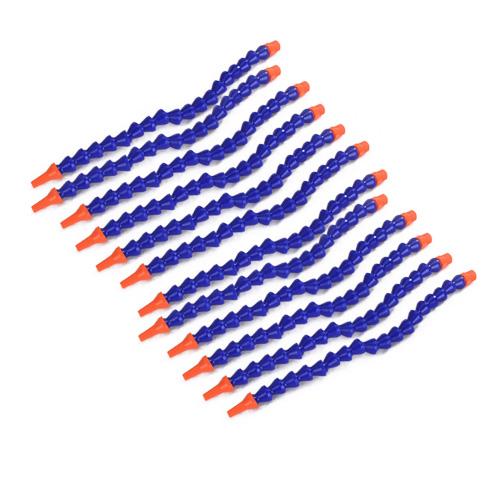 12 x Plastic Flexible Water Oil Coolant Pipe Hose
