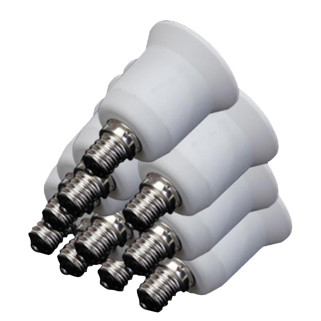 10 X Candelabra Light Bulb Lamp Socket Enlarger Adapter