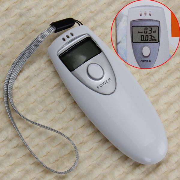 LCD Digital Breath Alcohol Tester Breathalyzer