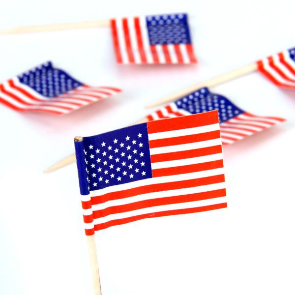 50pcs american flag cake decoration cupcake picks free for American flag cake decoration