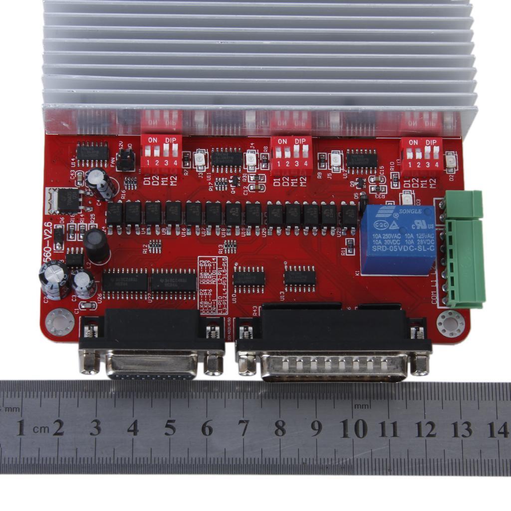 3 axis stepper motor driver controller board free shipping for Stepper motor control board