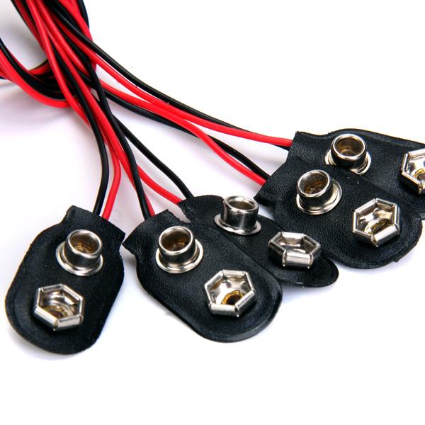 20pcs 9V Battery Snap for Multimeter