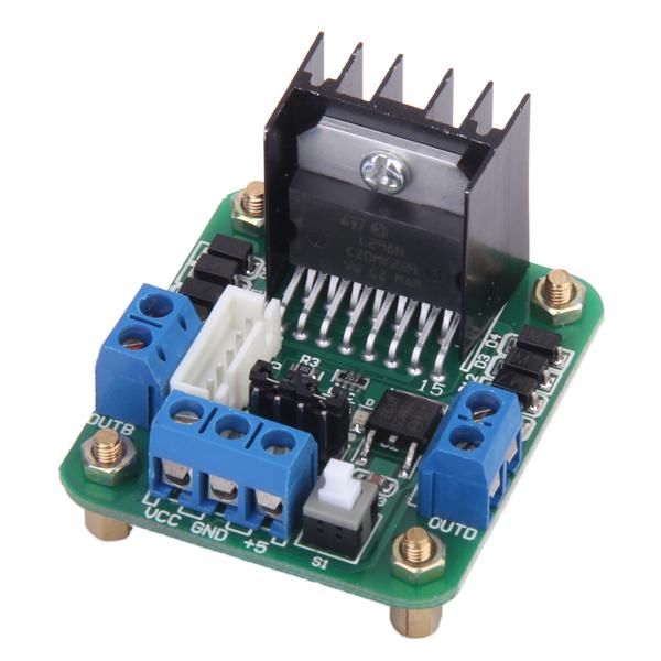 L298N Dual H Bridge Stepper Motor Driver Controller Board Module