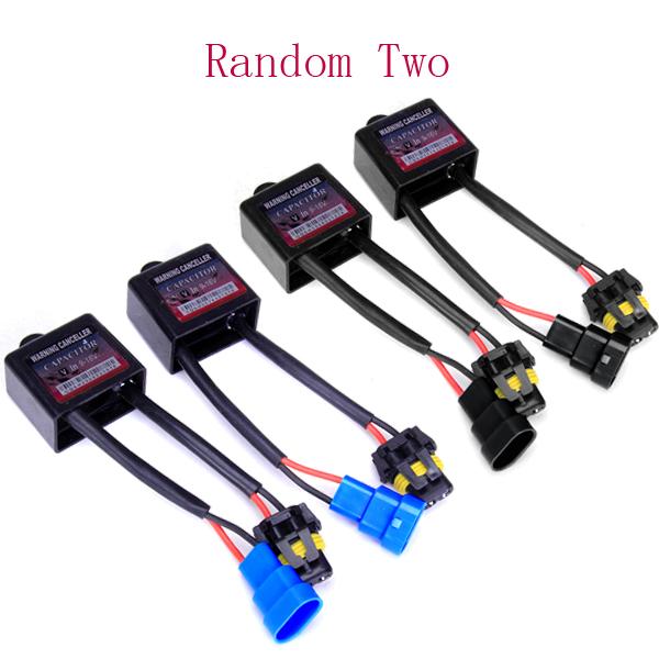 2 x HID Xenon Error Warning Cancellers Capacitors Decoders
