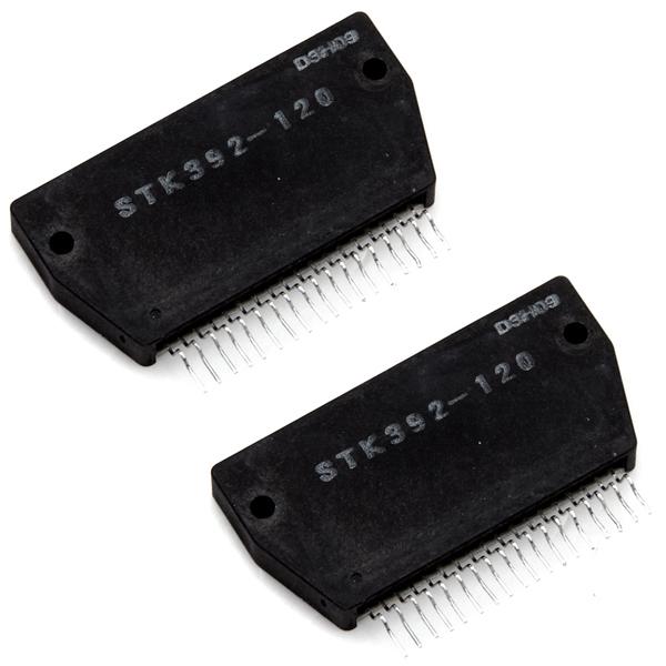 2 x STK392-120 Convergence IC