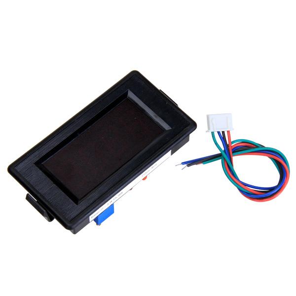 3 1/2 Digital Red LED DC 200V Volt Voltmeter Panel Meter