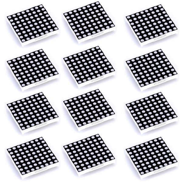12pcs 8 x 8 Bicolor LED Dot Matrix Display Common Anode