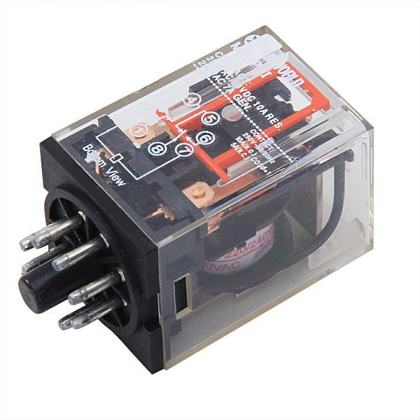 MK2P-I AC/DC 28-250V Electromagnetic Relay