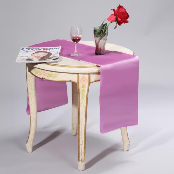 106 x 11 inch Satin Table Runner Chair Sash Chair Tie