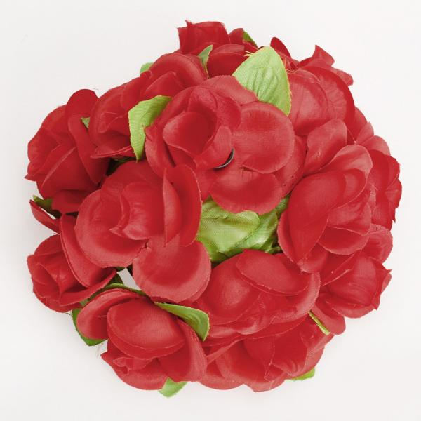 Artificial Flower Silk Rose Ball for Home Wedding Decoration