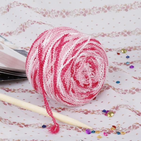 Soft Knitting Yarn Boucle Yarn - Color Mixed