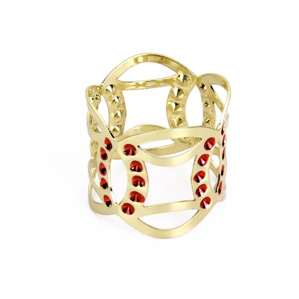 Aluminium Gold Tone Napkin Ring