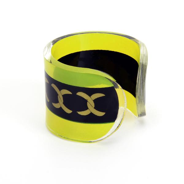Acrylic Cuff Style Napkin Ring