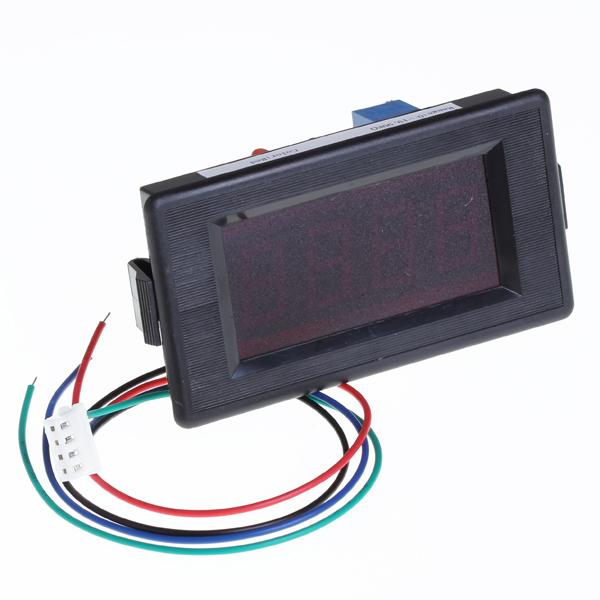 3 1/2 Digits Red LED 20KΩ Resistance Panel Meter
