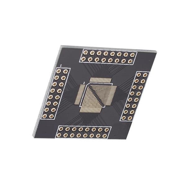 10pcs QFP64-DIP64 to DIP PCB Adapter
