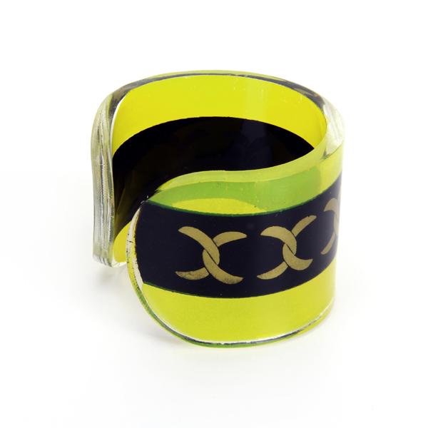 12pcs Acrylic Cuff Style Napkin Ring
