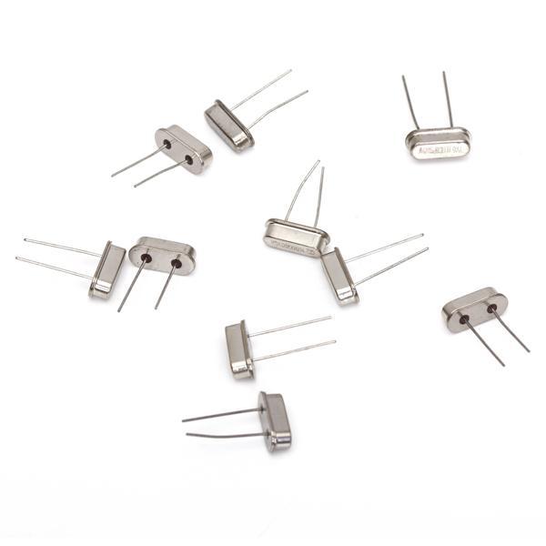 10pcs 2 Pin 16MHz Crystal Oscillator HC-49S