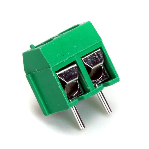 50pcs 2 Pins 5.08mm Pitch AC 300V 16A Block Terminal Connector