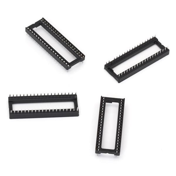 10pcs 40 pin DIP IC Sockets Adaptor Solder Type
