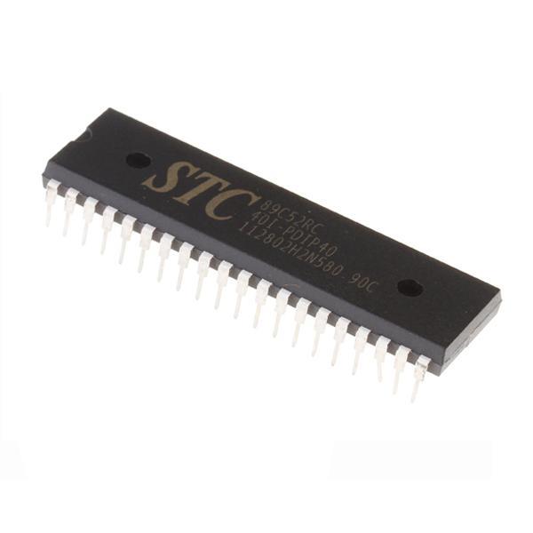 10x 89C52RC DIP40 Microcontroller