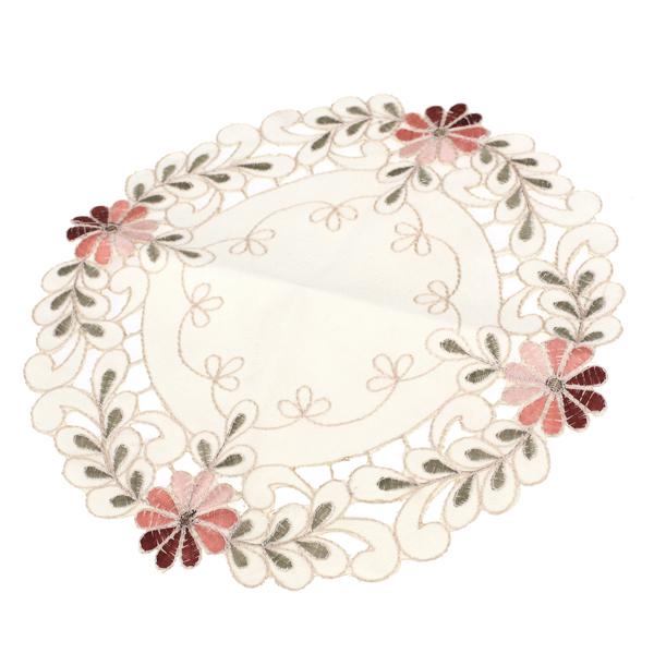 9.5 inch Round Cutwork Doily Placemat Centerpiece Coaster