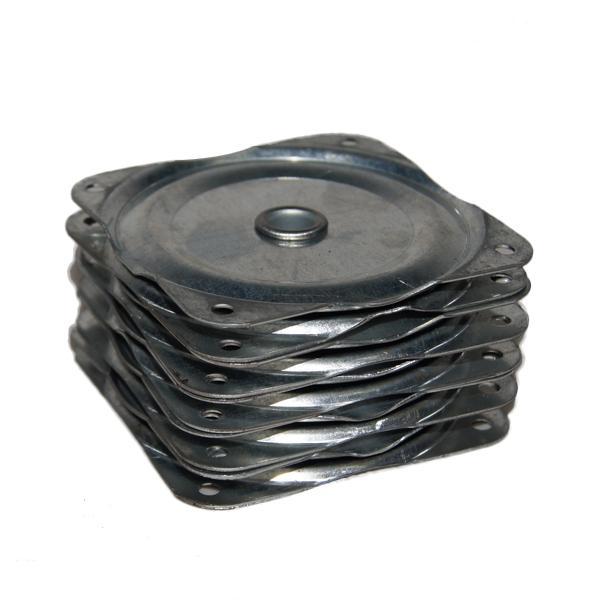 5pcs Mini Swivel Plate for Jewelry Display Shelf