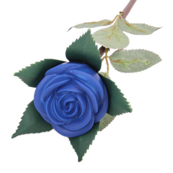 Valentine Gift Never Fade Rose Flower LED Lamp Blue