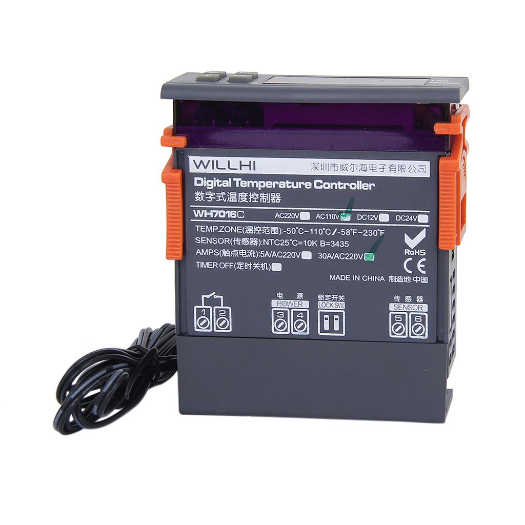 Digital Temperature Controller WH7016M