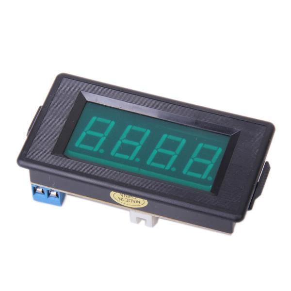 3 1/2 Digital Green LED 2A DC Amperemeter Panel Meter