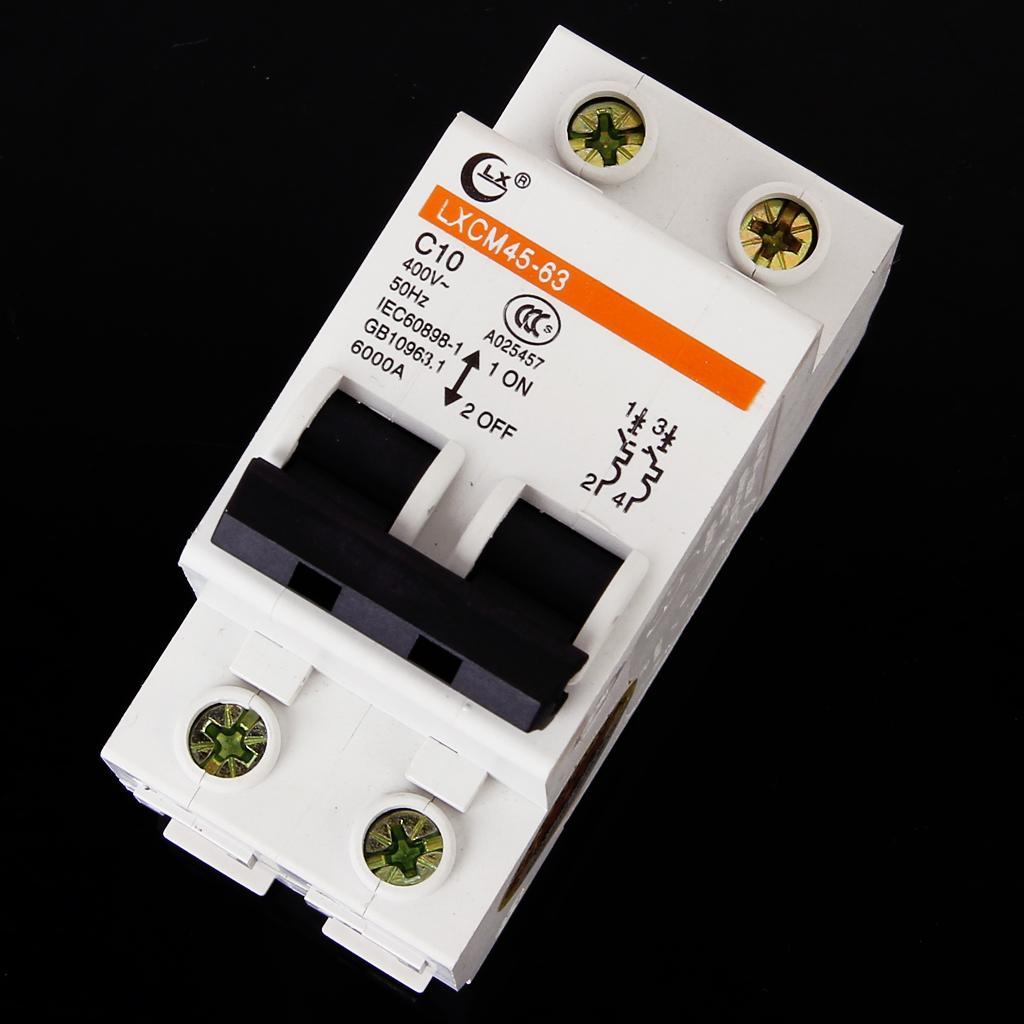 2P/10A Miniature Circuit Breaker