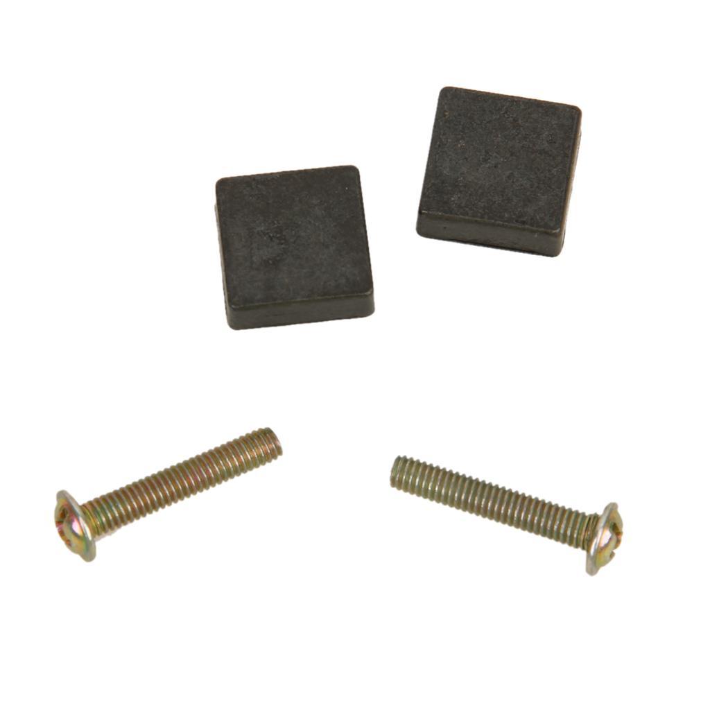 2pcs Square Cabinet Drawer Dresser Bin Drop Pull Knob Handle Black
