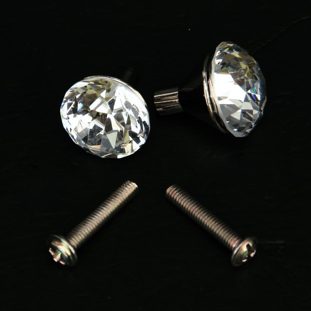 2x Zinc Alloy Small Drawer Knob Pull Handle