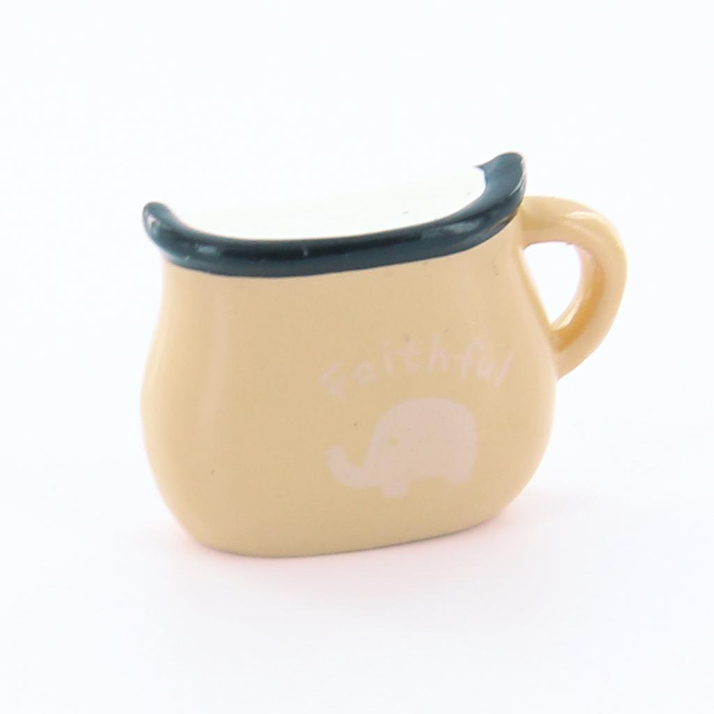 1pcs Milk cup Shape Fridge Magnet -Beige