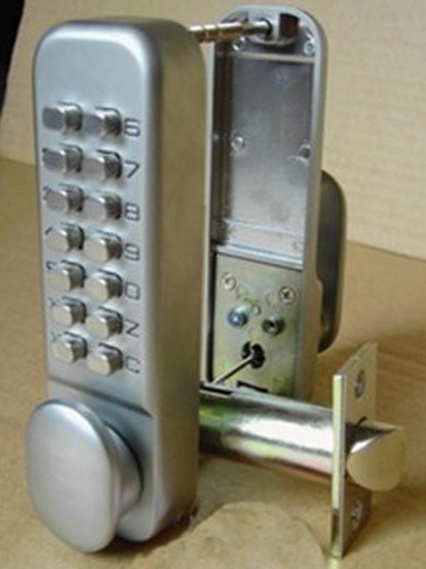 how to stop digital push button door locks