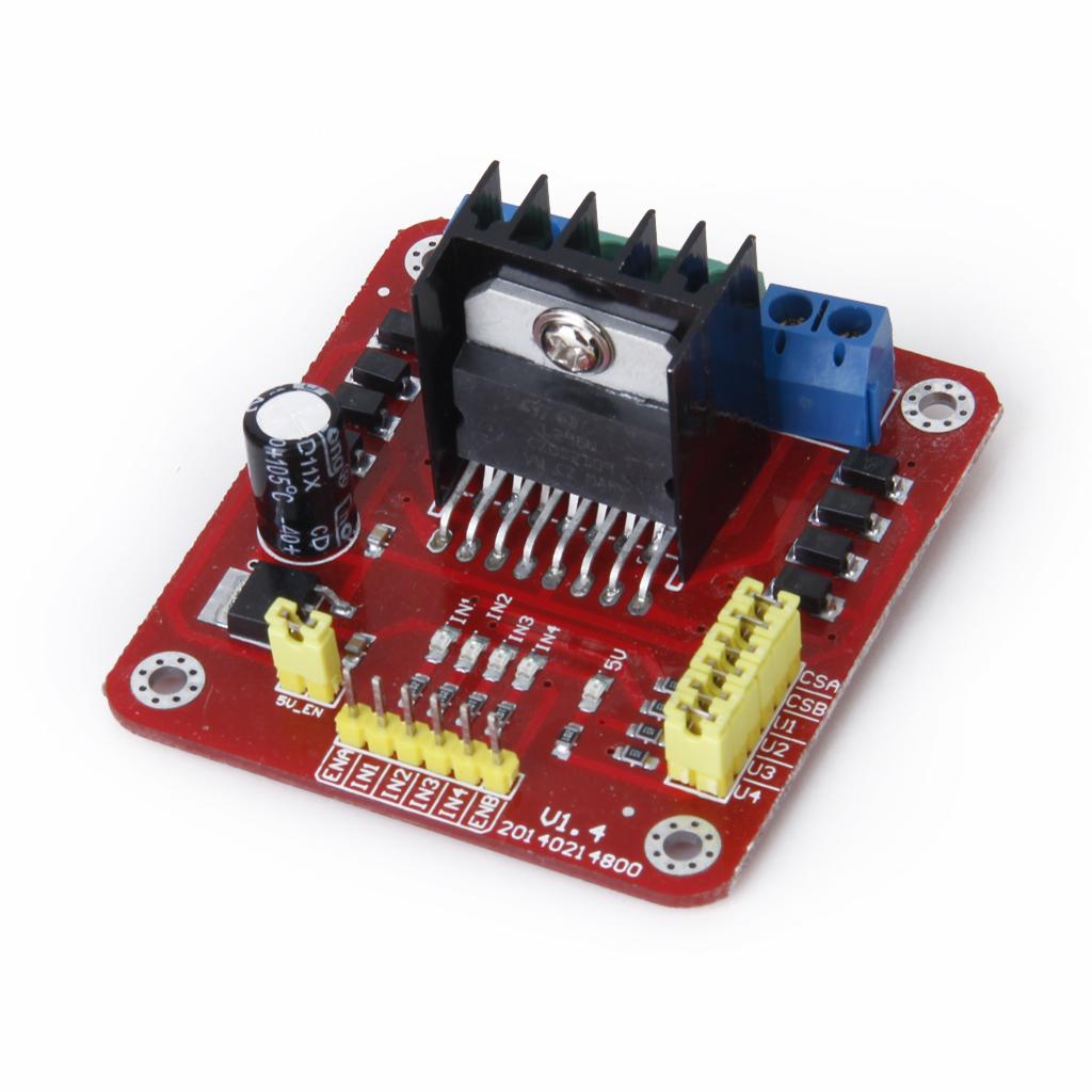 L298N Dual H Bridge Motor Driver Controller Board Module