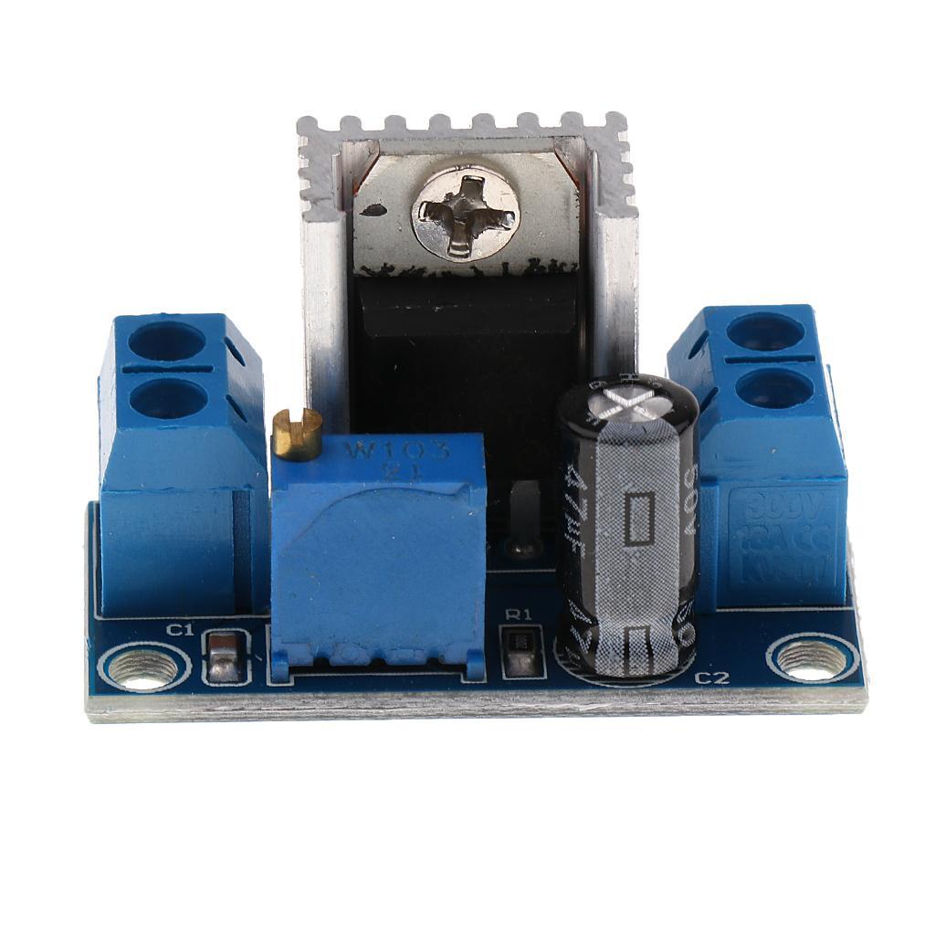 LM317 DC-DC Converter Buck Circuit Board