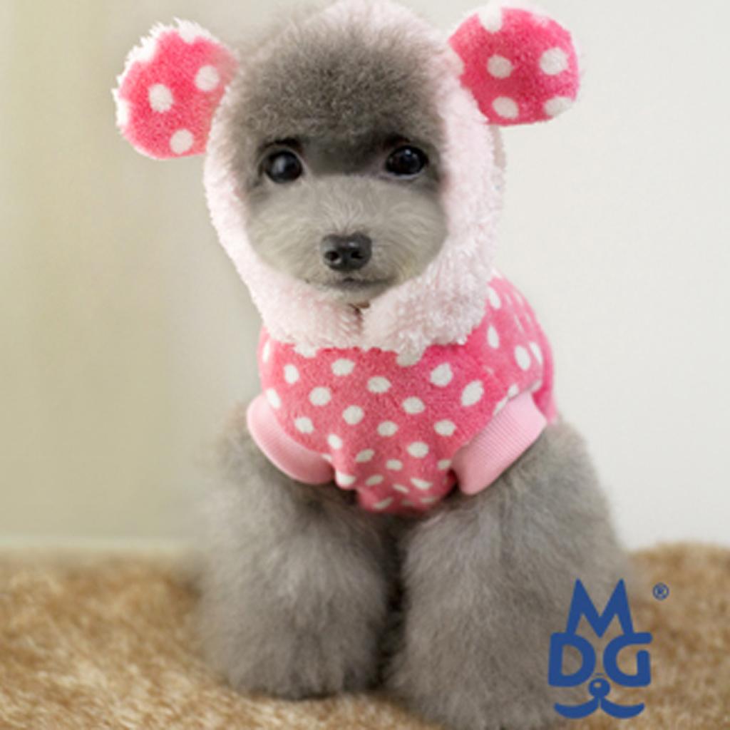 Winter Pet Dog Super Jacket Pink M