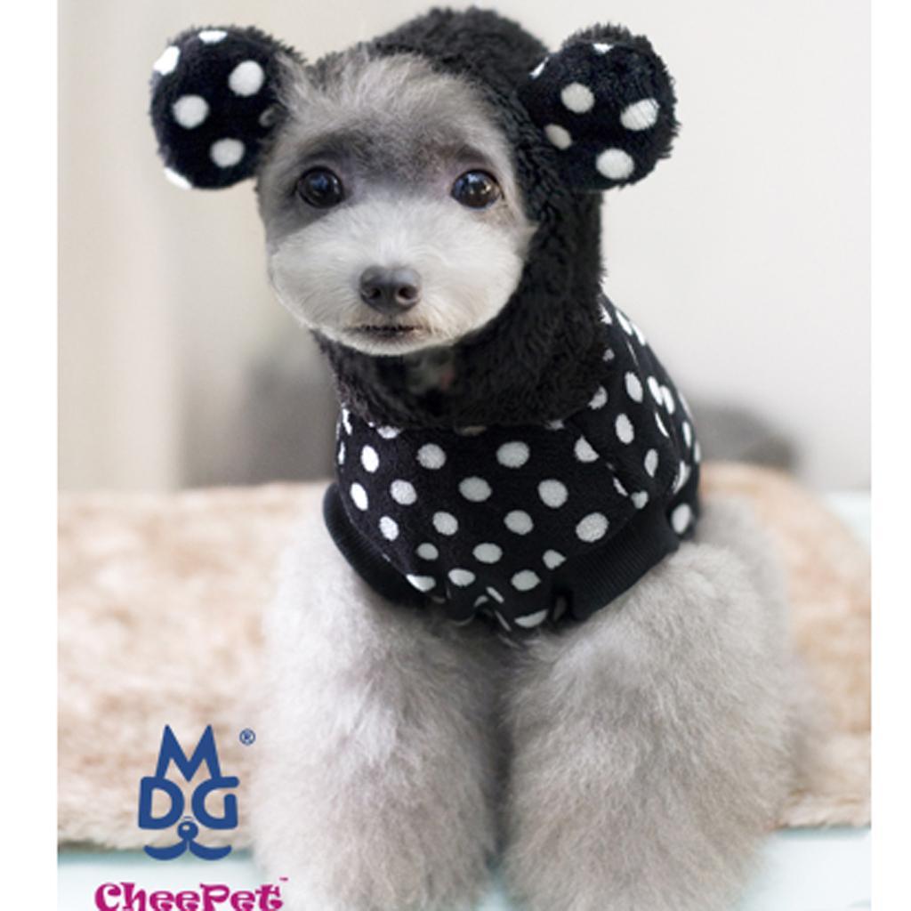 Winter Pet Dog Super Jacket Black L
