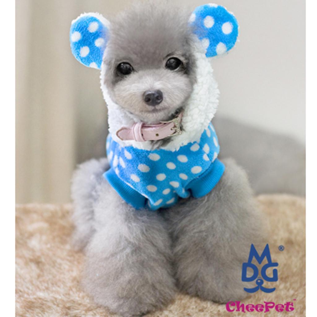 Winter Pet Dog Super Jacket Blue S