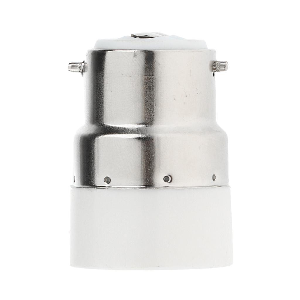 B22-E14 LED Light Screw Bulb Socket Adapter Converter