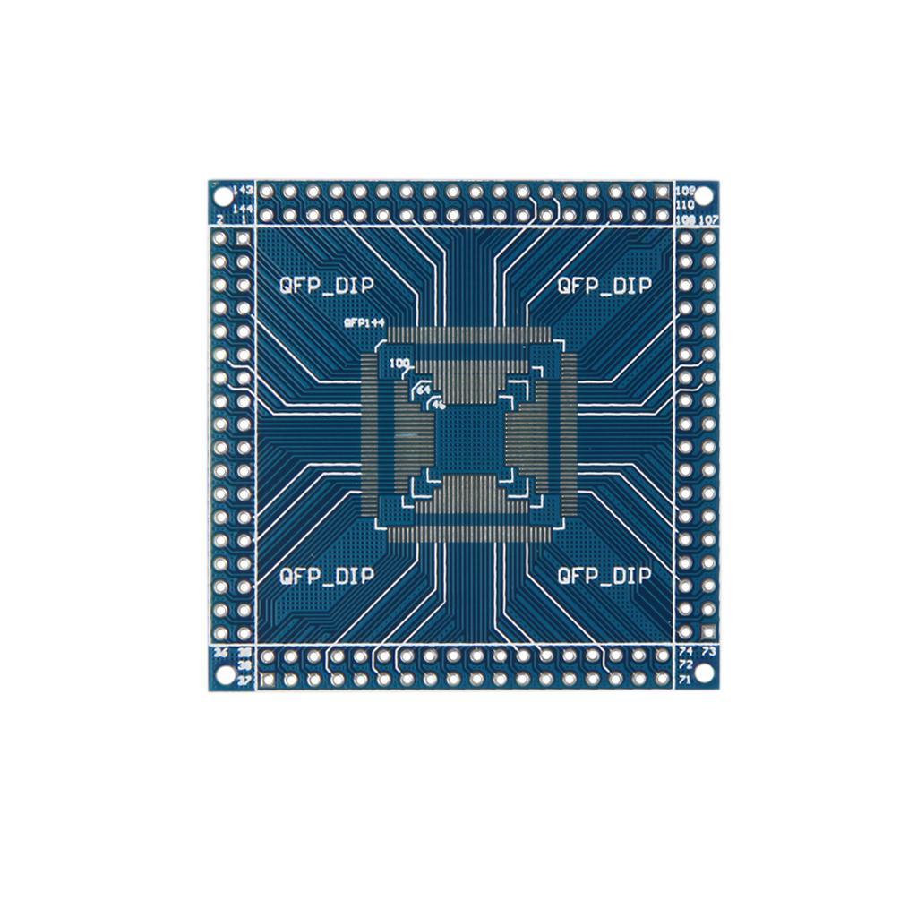 QFP 32/44/48/64/100/144 pin 0.5mm to DIP Pinboard Adapter Converter