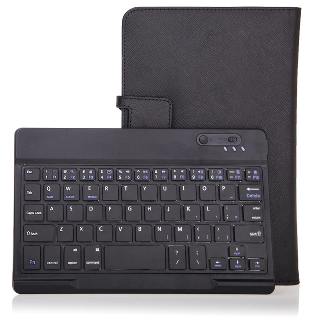 Detachable Wireless Magnet Bluetooth 3.0 Keyboard Folio Case for Lenovo Miix 2