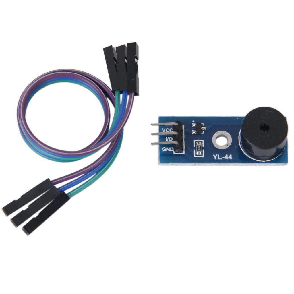 9012 Transistor Active Buzzer Alarm Sensor Module with Wire