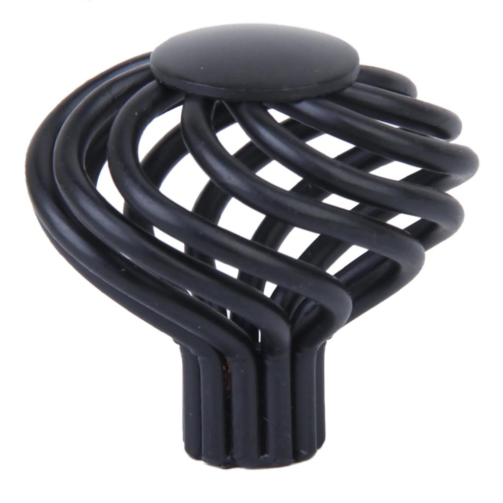 Spiral Cage Design Kitchen Cabinet Cupboard Handles Knob