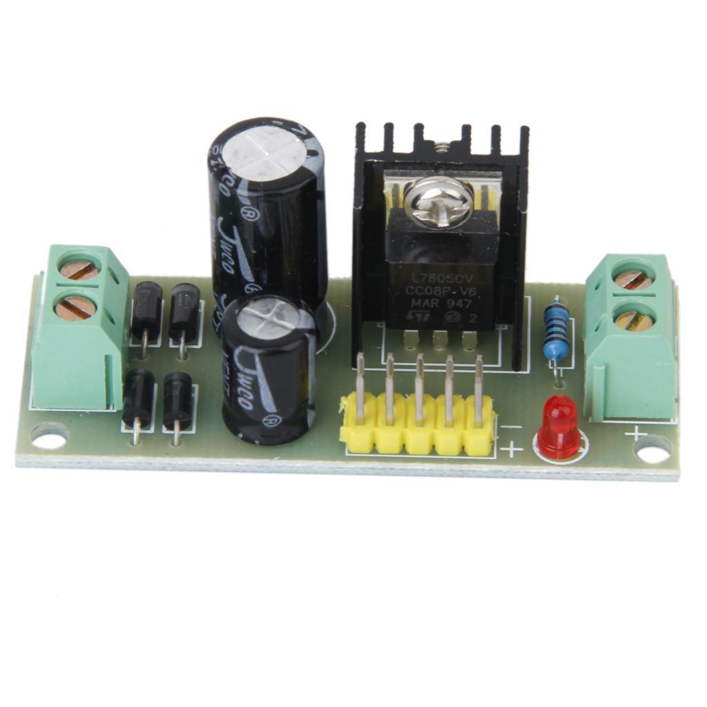 7805 AC/DC-DC Step-down Power Supply Module
