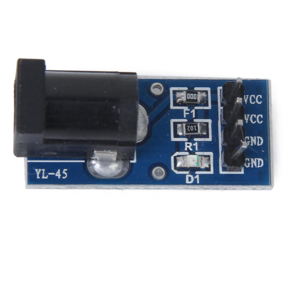 DC Power Apply Pinboard 5.5x2.1mm Adapter Plate Module